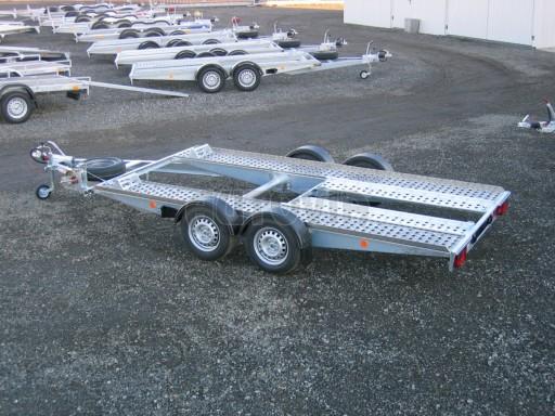 Dvouosý brzděný přívěs k přepravě automobilů PA 2,0 č.14
