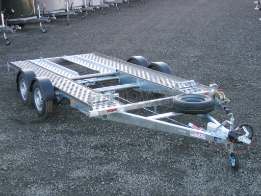 Dvouosý brzděný přívěs k přepravě automobilů PA 2,0 č.15