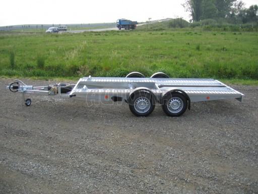 Dvouosý brzděný přívěs k přepravě automobilů PA 2,0 č.18