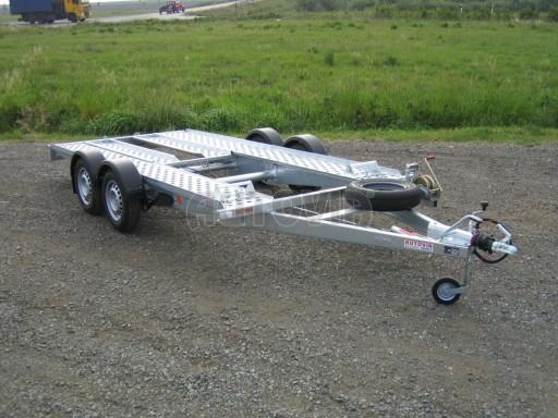 Dvouosý brzděný přívěs k přepravě automobilů PA 2,0 č.19