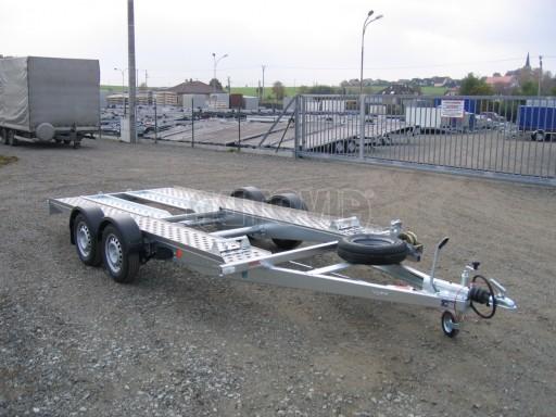 Dvouosý brzděný přívěs k přepravě automobilů PA 2,0 č.23
