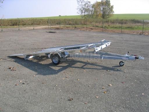 Jednonápravový brzděný přívěs KAR 08A č.23
