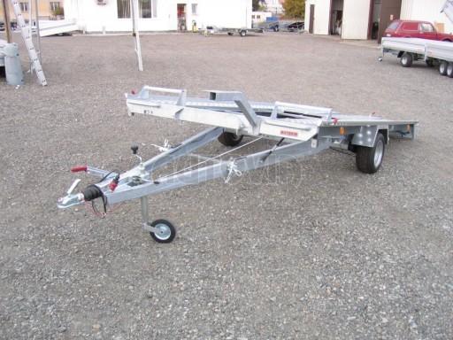 Jednonápravový brzděný přívěs KAR 08A č.26