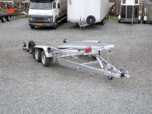 Dvouosý brzděný přívěs k přepravě automobilů PT 2,5T** č.3