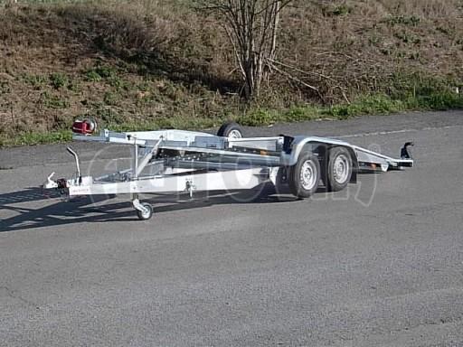 Dvouosý brzděný přívěs k přepravě automobilů PT 2,5T** č.5