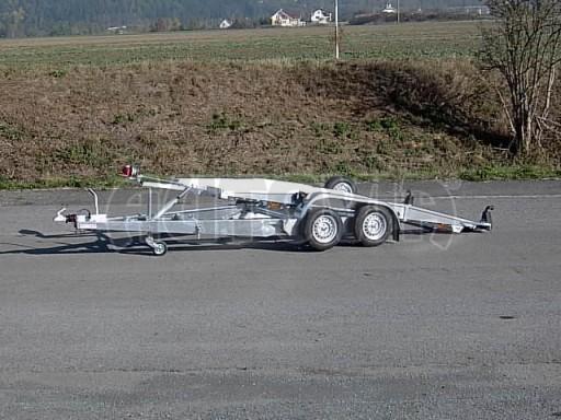 Dvouosý brzděný přívěs k přepravě automobilů PT 2,5T** č.6