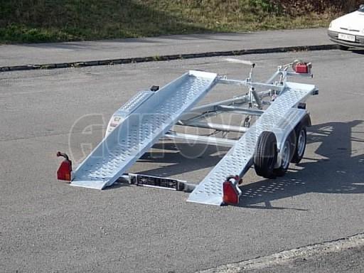 Dvouosý brzděný přívěs k přepravě automobilů PT 2,5T** č.12