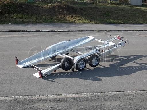 Dvouosý brzděný přívěs k přepravě automobilů PT 2,5T** č.13