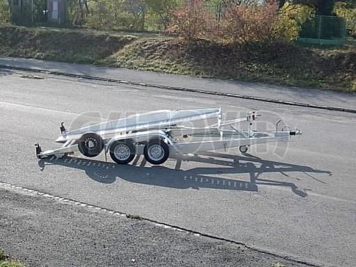 Dvouosý brzděný přívěs k přepravě automobilů PT 2,5T** č.14