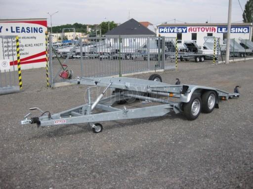 Dvouosý brzděný přívěs k přepravě automobilů PT 2,5T** č.23