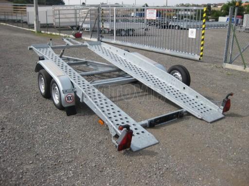Dvouosý brzděný přívěs k přepravě automobilů PT 2,5T** č.25
