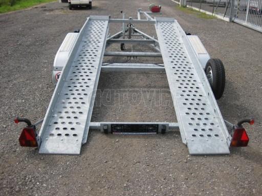 Dvouosý brzděný přívěs k přepravě automobilů PT 2,5T** č.26