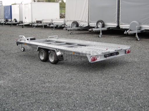 Dvouosý brzděný přívěs k přepravě automobilů KAR 09A č.4