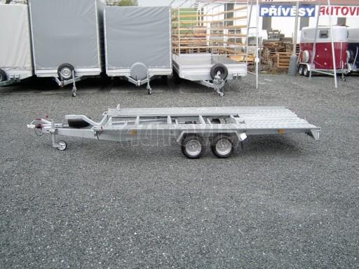Dvouosý brzděný přívěs k přepravě automobilů KAR 09A č.8
