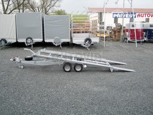 Dvouosý brzděný přívěs k přepravě automobilů KAR 09A č.10