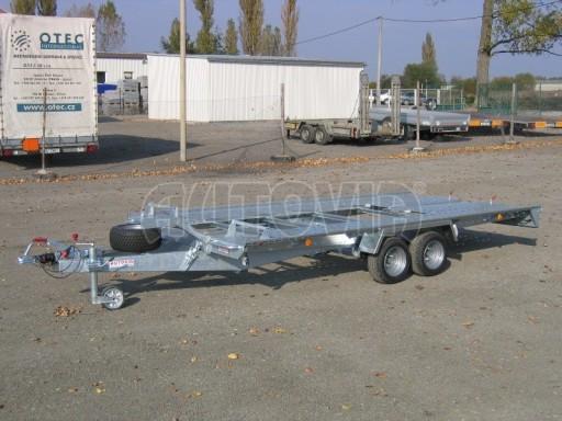 Dvouosý brzděný přívěs k přepravě automobilů KAR 09A č.20