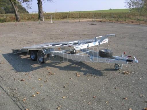 Dvouosý brzděný přívěs k přepravě automobilů KAR 09A č.21