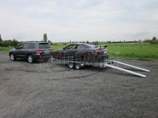 Dvouosý brzděný přívěs k přepravě automobilů KAR 09A č.31