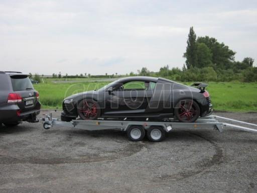 Dvouosý brzděný přívěs k přepravě automobilů KAR 09A č.32