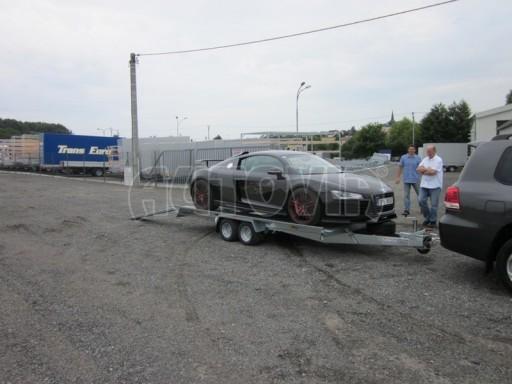Dvouosý brzděný přívěs k přepravě automobilů KAR 09A č.35