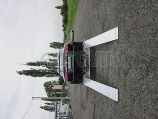 Dvouosý brzděný přívěs k přepravě automobilů KAR 09A č.37