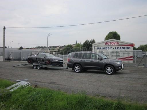 Dvouosý brzděný přívěs k přepravě automobilů KAR 09A č.40