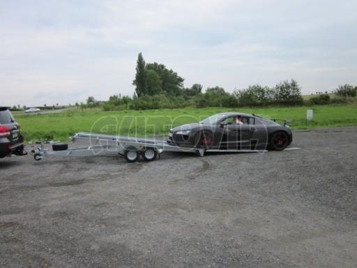 Dvouosý brzděný přívěs k přepravě automobilů KAR 09A č.47