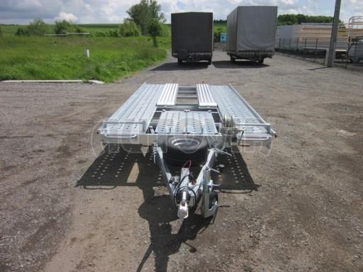 Dvouosý brzděný přívěs k přepravě automobilů KAR 09A č.51