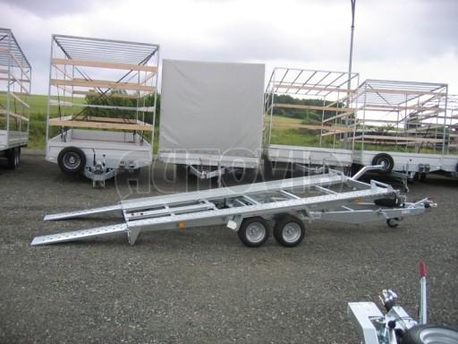Dvouosý brzděný přívěs k přepravě automobilů KAR 09A č.66
