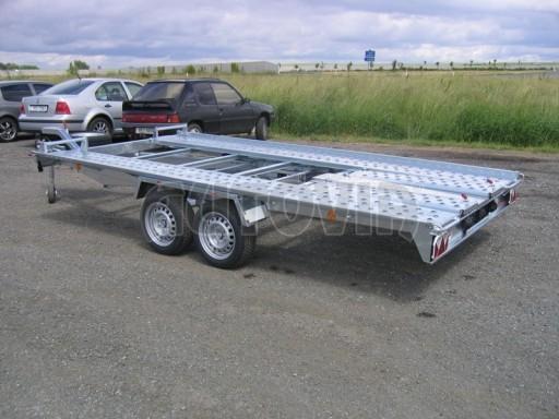 Dvouosý brzděný přívěs k přepravě automobilů KAR 09A č.70