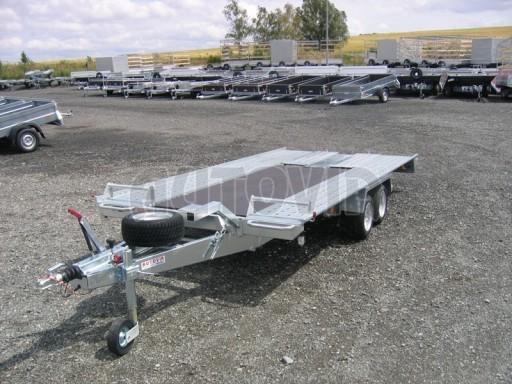 Dvouosý brzděný přívěs k přepravě automobilů KAR 09A č.71