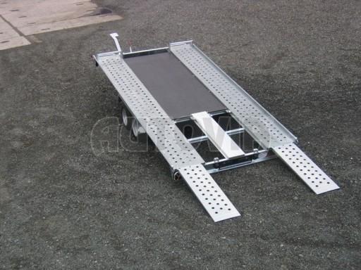 Dvouosý brzděný přívěs k přepravě automobilů KAR 09A č.78