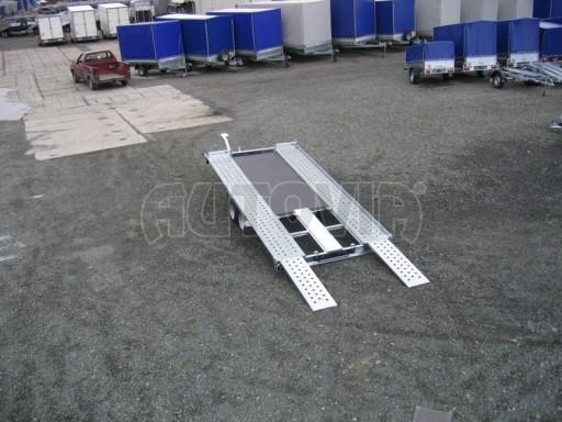Dvouosý brzděný přívěs k přepravě automobilů KAR 09A č.79