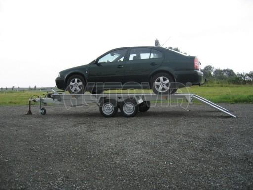 Dvouosý brzděný přívěs k přepravě automobilů KAR 09A č.96