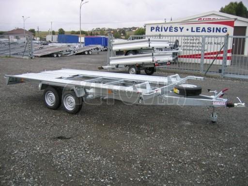 Dvouosý brzděný přívěs k přepravě automobilů KAR 09A č.98