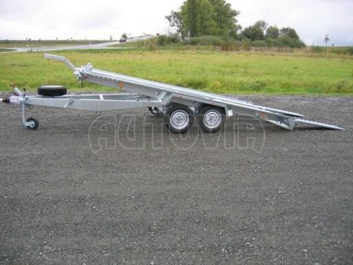 Dvouosý brzděný přívěs k přepravě automobilů KAR 09A č.103