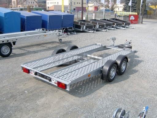 Dvouosý brzděný přívěs k přepravě automobilů PA 2,0B č.6