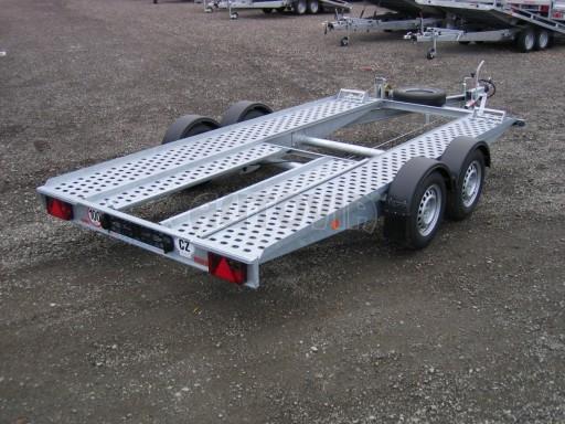 Dvouosý brzděný přívěs k přepravě automobilů PA 2,0B č.2