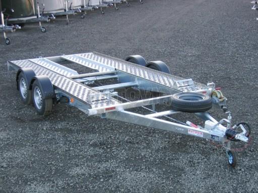Dvouosý brzděný přívěs k přepravě automobilů PA 2,0B č.11