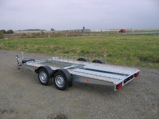 Dvouosý brzděný přívěs k přepravě automobilů PA 2,0B č.19