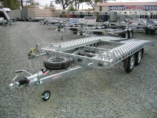 Dvouosý brzděný přívěs k přepravě automobilů PAV 2,0 č.4