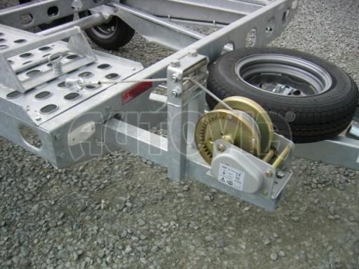 Dvouosý brzděný přívěs k přepravě automobilů PAV 2,0 č.5