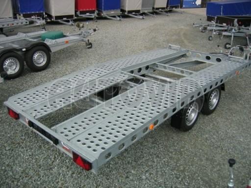 Dvouosý brzděný přívěs k přepravě automobilů PAV 2,0 č.6