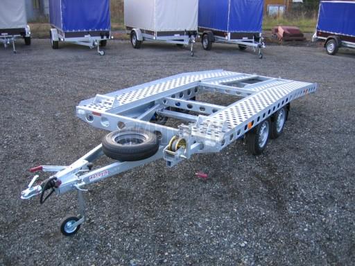 Dvouosý brzděný přívěs k přepravě automobilů PAV 2,0 č.8