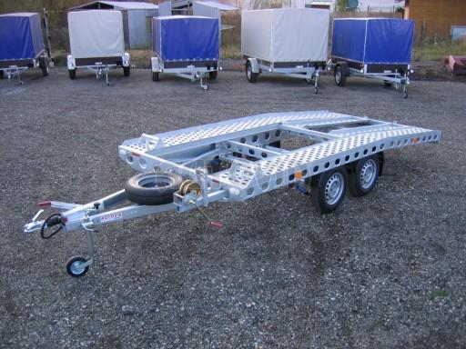 Dvouosý brzděný přívěs k přepravě automobilů PAV 2,0 č.9