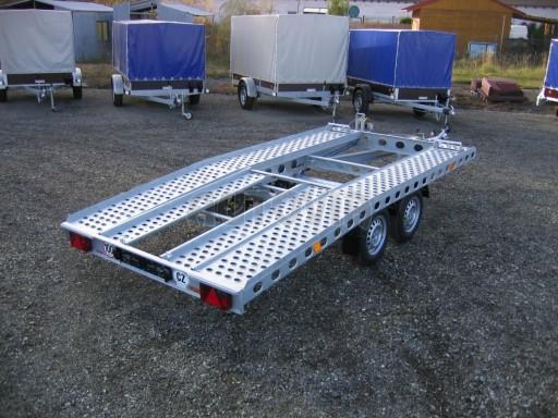 Dvouosý brzděný přívěs k přepravě automobilů PAV 2,0 č.11