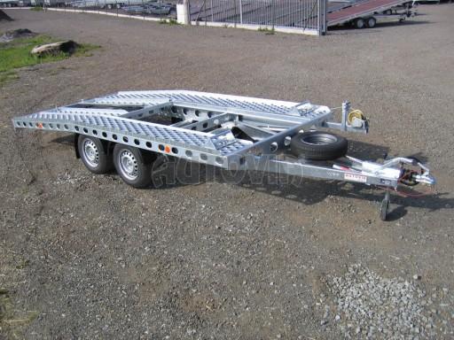 Dvouosý brzděný přívěs k přepravě automobilů PAV 2,0 č.3