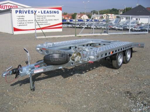 Dvouosý brzděný přívěs k přepravě automobilů PAV 2,0 č.13