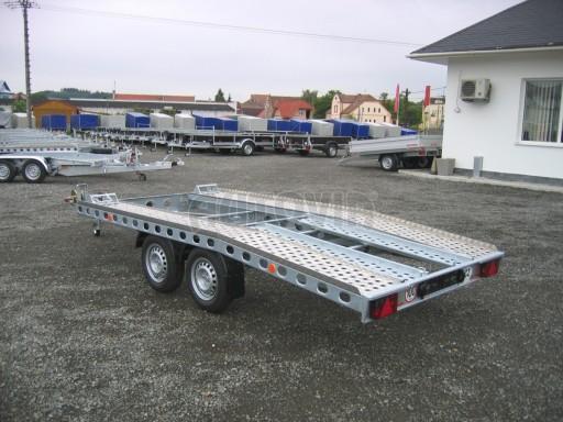 Dvouosý brzděný přívěs k přepravě automobilů PAV 2,0 č.14