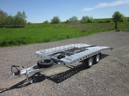 Dvouosý brzděný přívěs k přepravě automobilů PAV 2,0 č.17